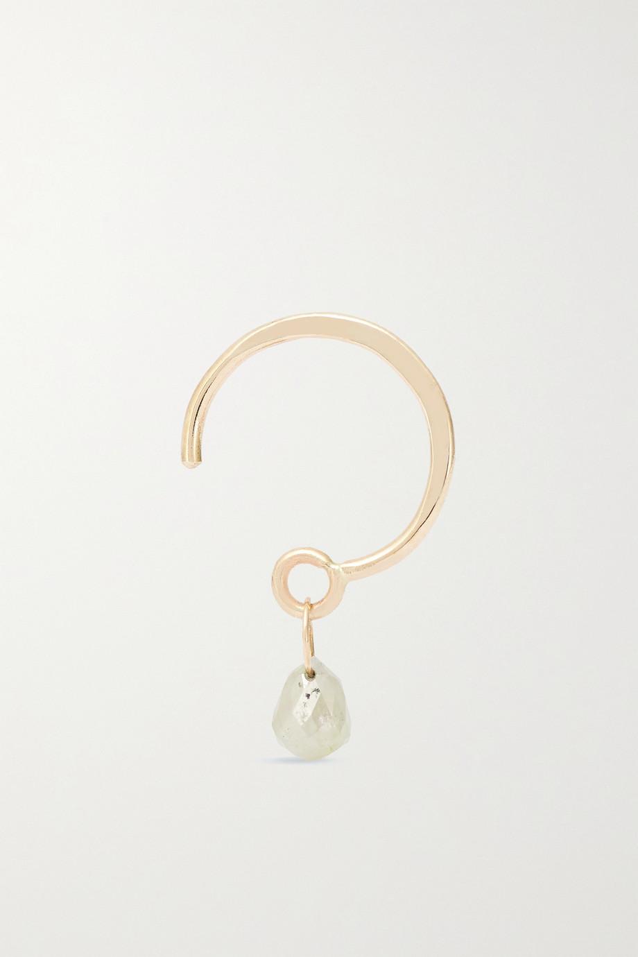 Melissa Joy Manning 14-karat gold diamond earring