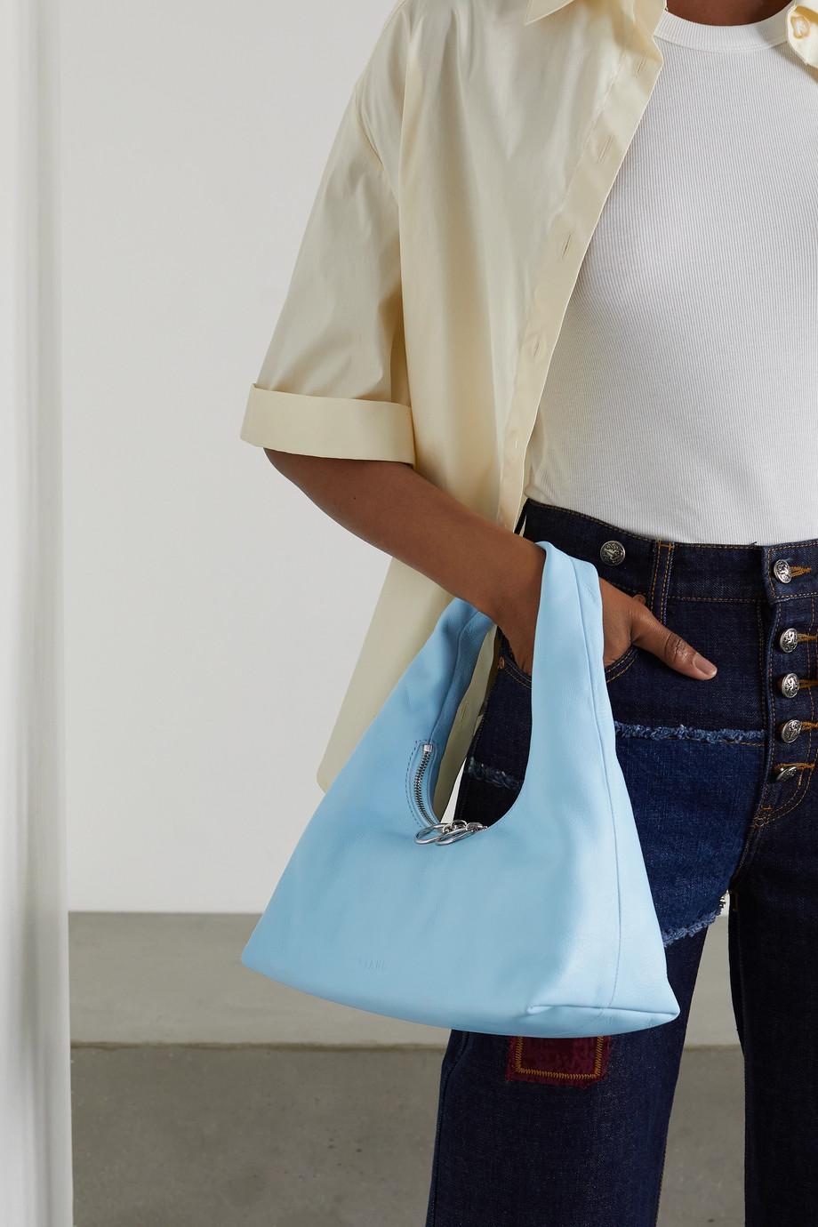 STAUD Enzo mini leather tote