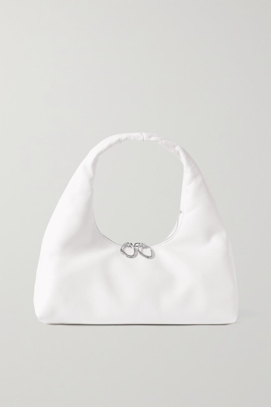 STAUD Enzo mini leather shoulder bag