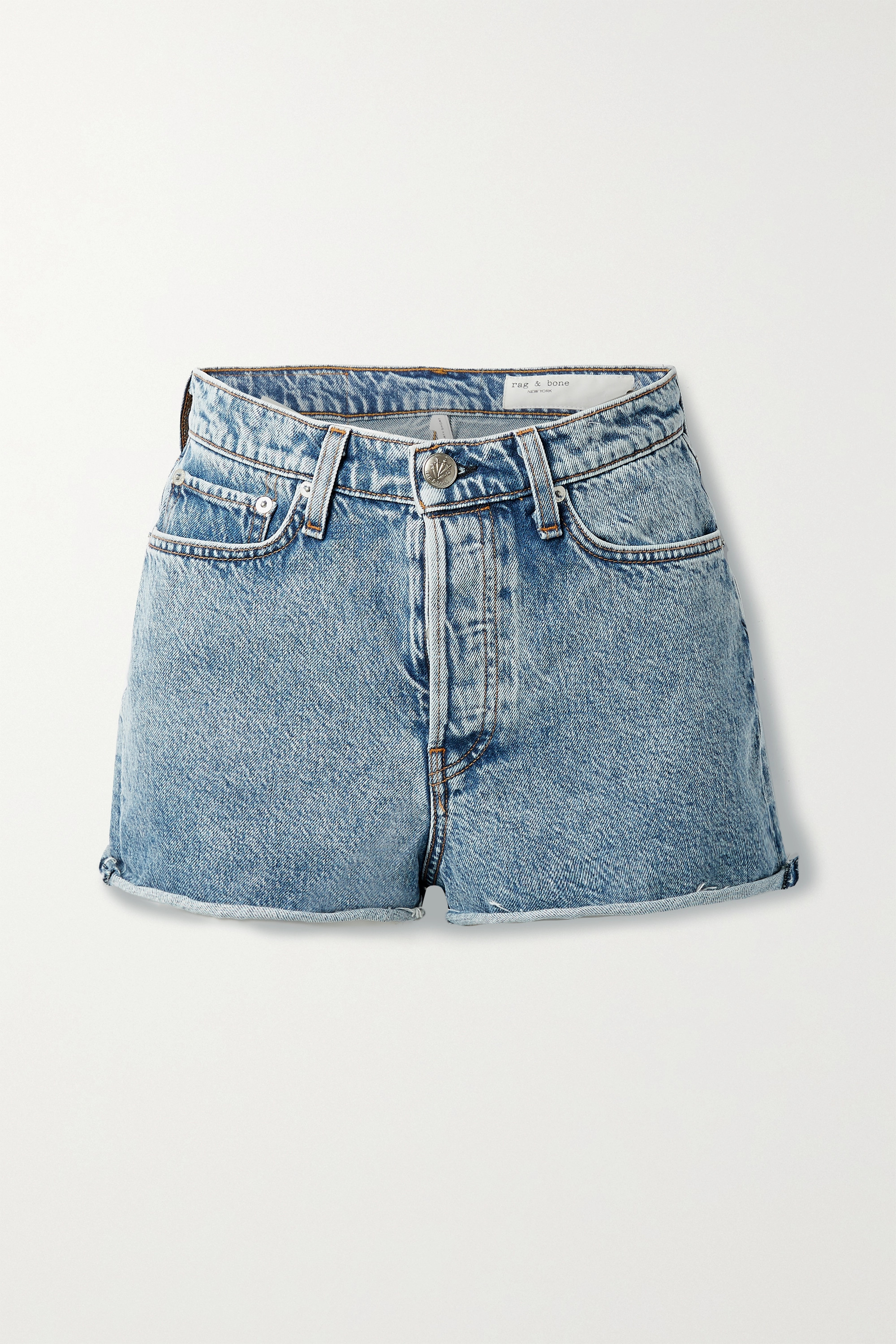 rag & bone - Maya denim shorts