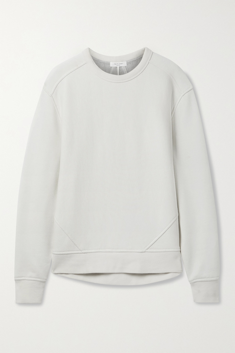 rag & bone + NET SUSTAIN City organic cotton-jersey sweatshirt