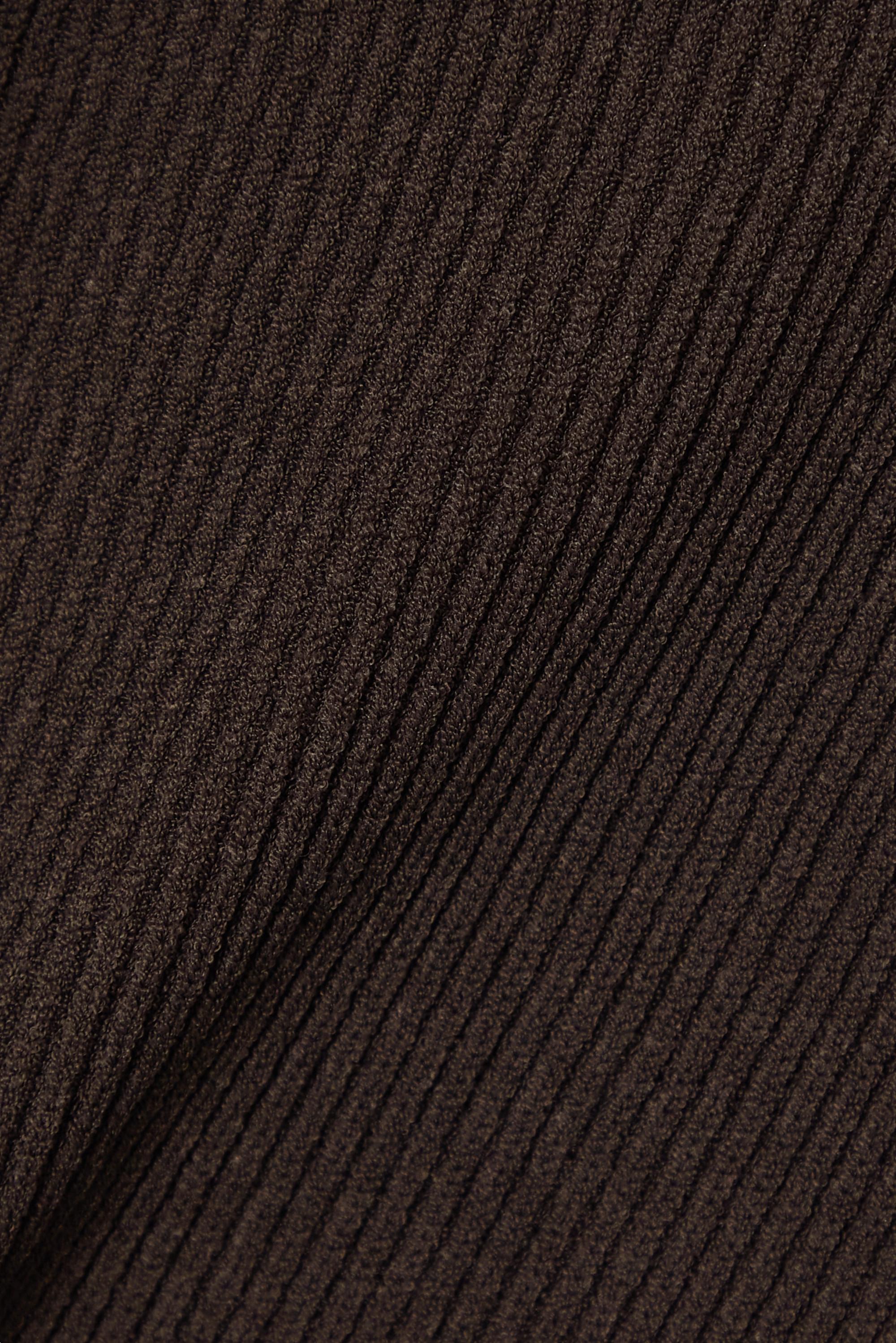 Khaite Leana ribbed-knit midi dress