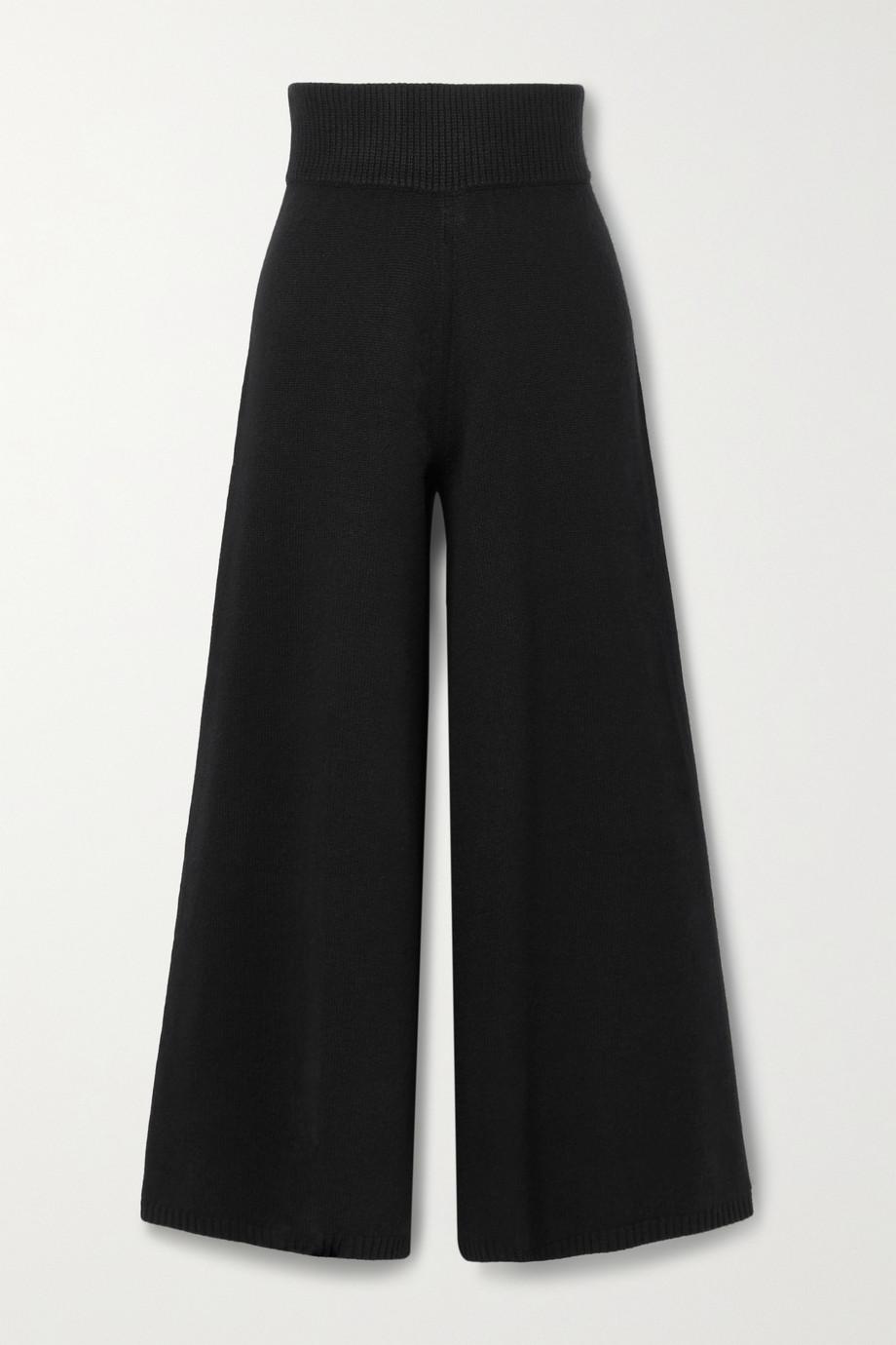 Khaite Rachelle cashmere wide-leg pants