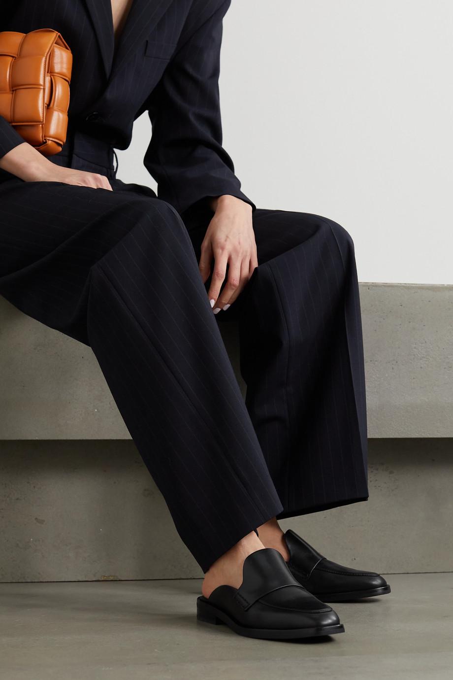 3.1 Phillip Lim Alexa Slippers aus Leder