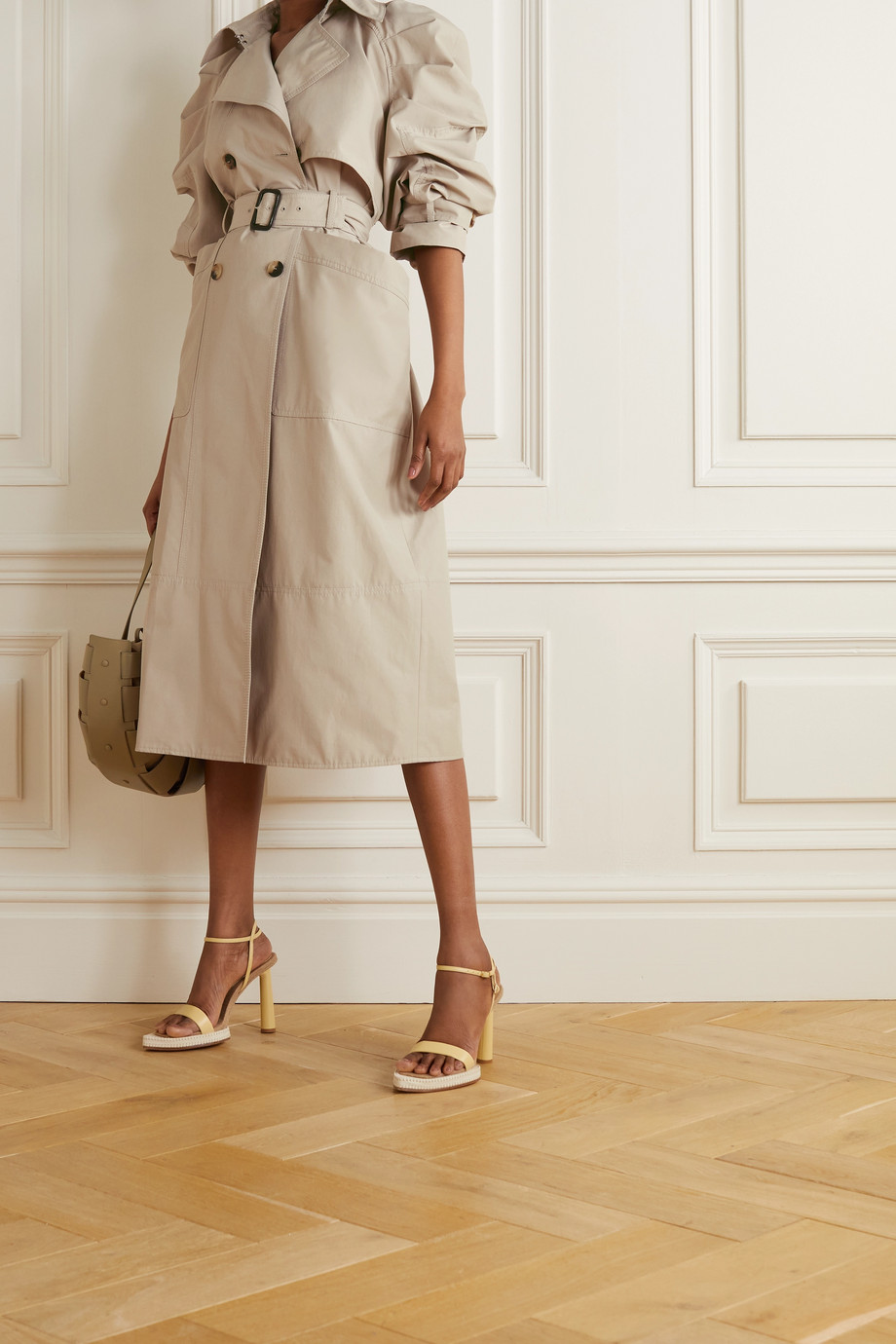Altuzarra Ambretta belted double-breasted cotton-blend trench coat