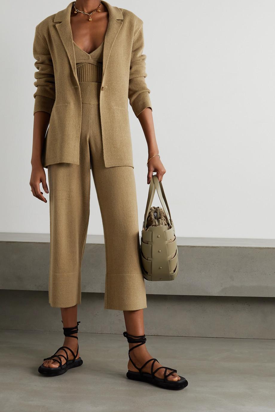 Altuzarra Heather cashmere and cotton-blend blazer