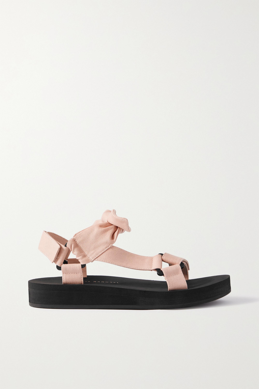 Loeffler Randall Maisie Sandalen aus Canvas mit Knoten
