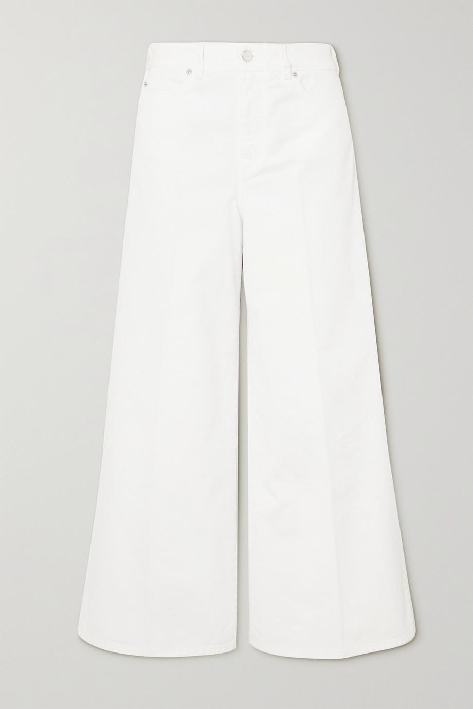 Victoria, Victoria Beckham Portland high-rise wide-leg jeans