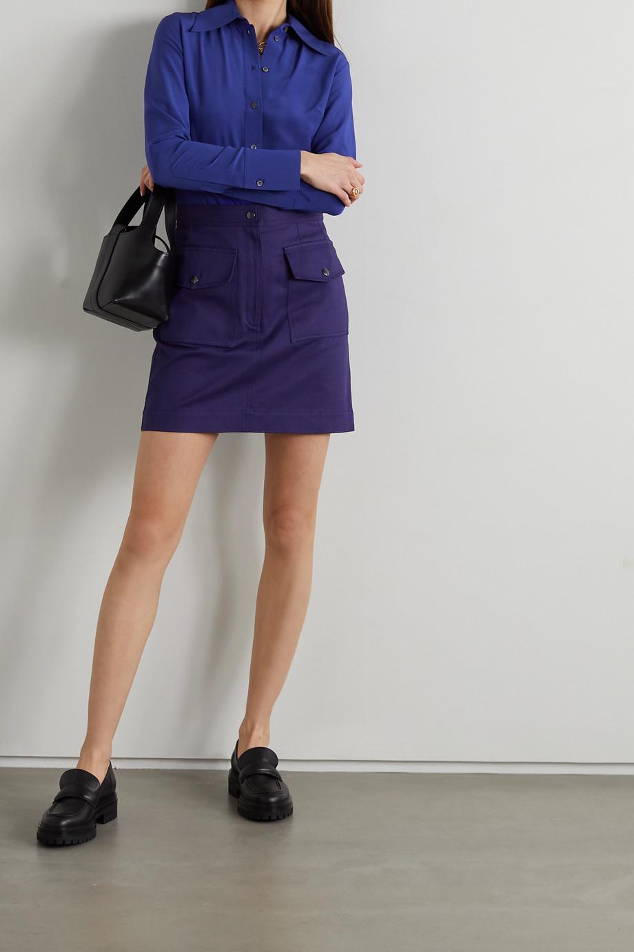 Victoria, Victoria Beckham Silk crepe de chine blouse