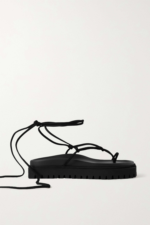 The Attico Suede platform sandals