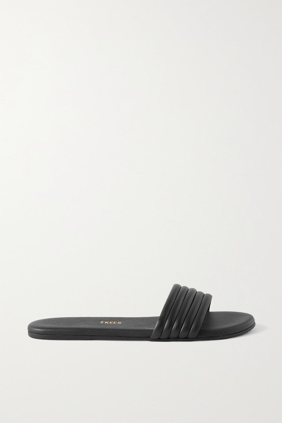 TKEES Serena leather slides