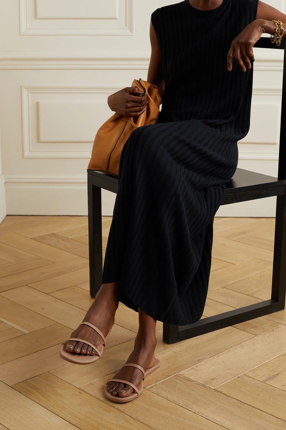 TKEES Gemma vegan matte-leather sandals