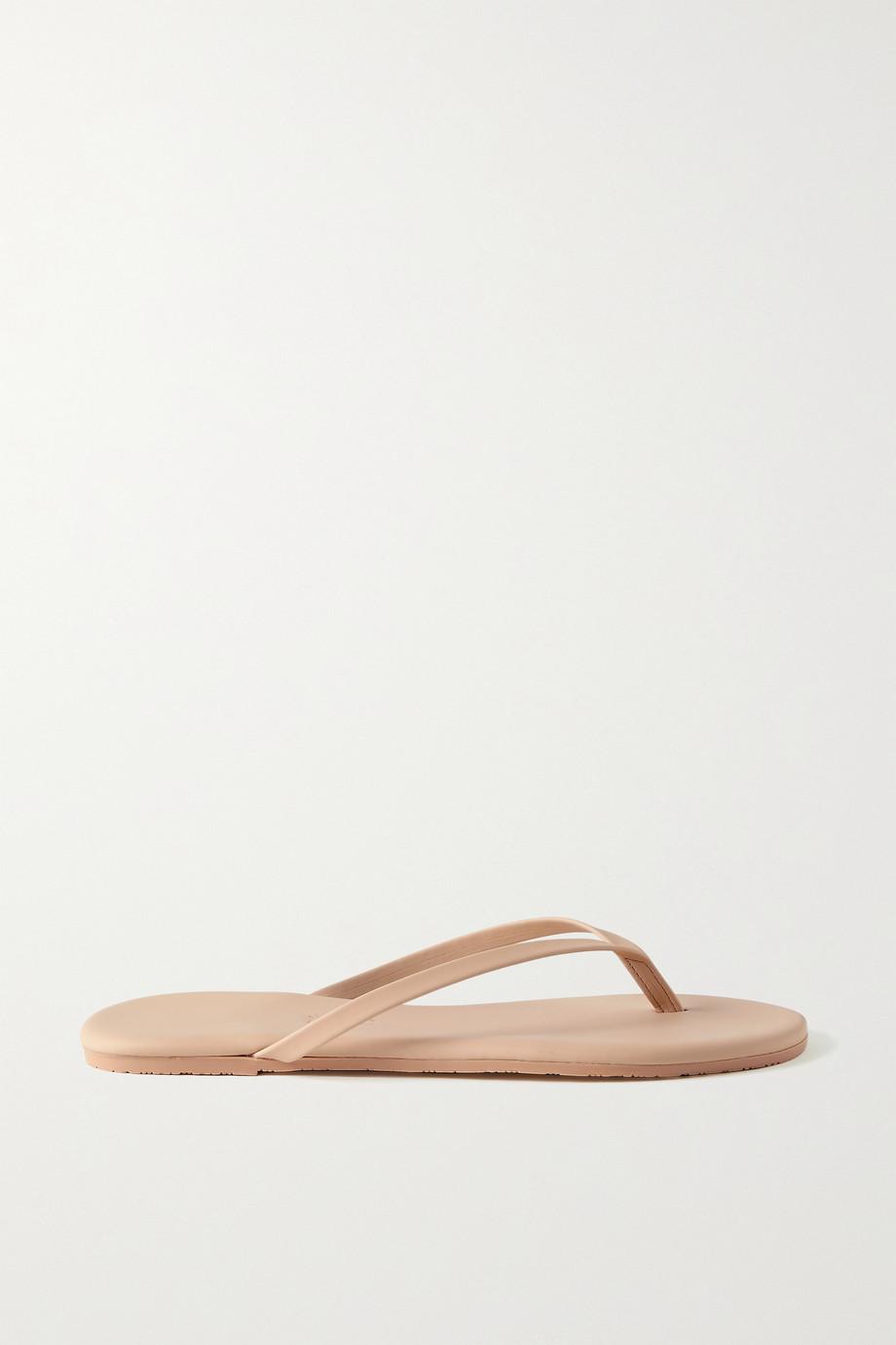 TKEES Lily vegan matte-leather flip flops