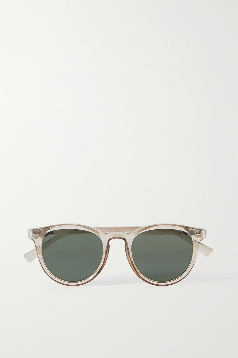 Le Specs Fire Starter round-frame acetate sunglasses