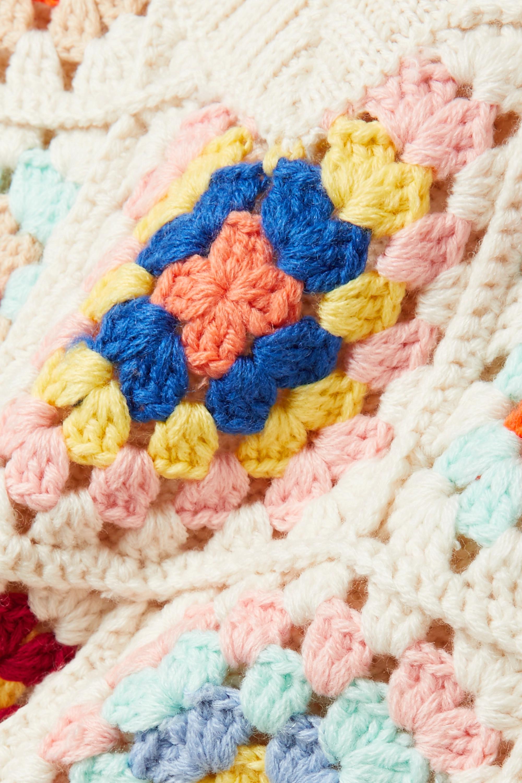 Sea Gabriela crocheted wool-blend tank