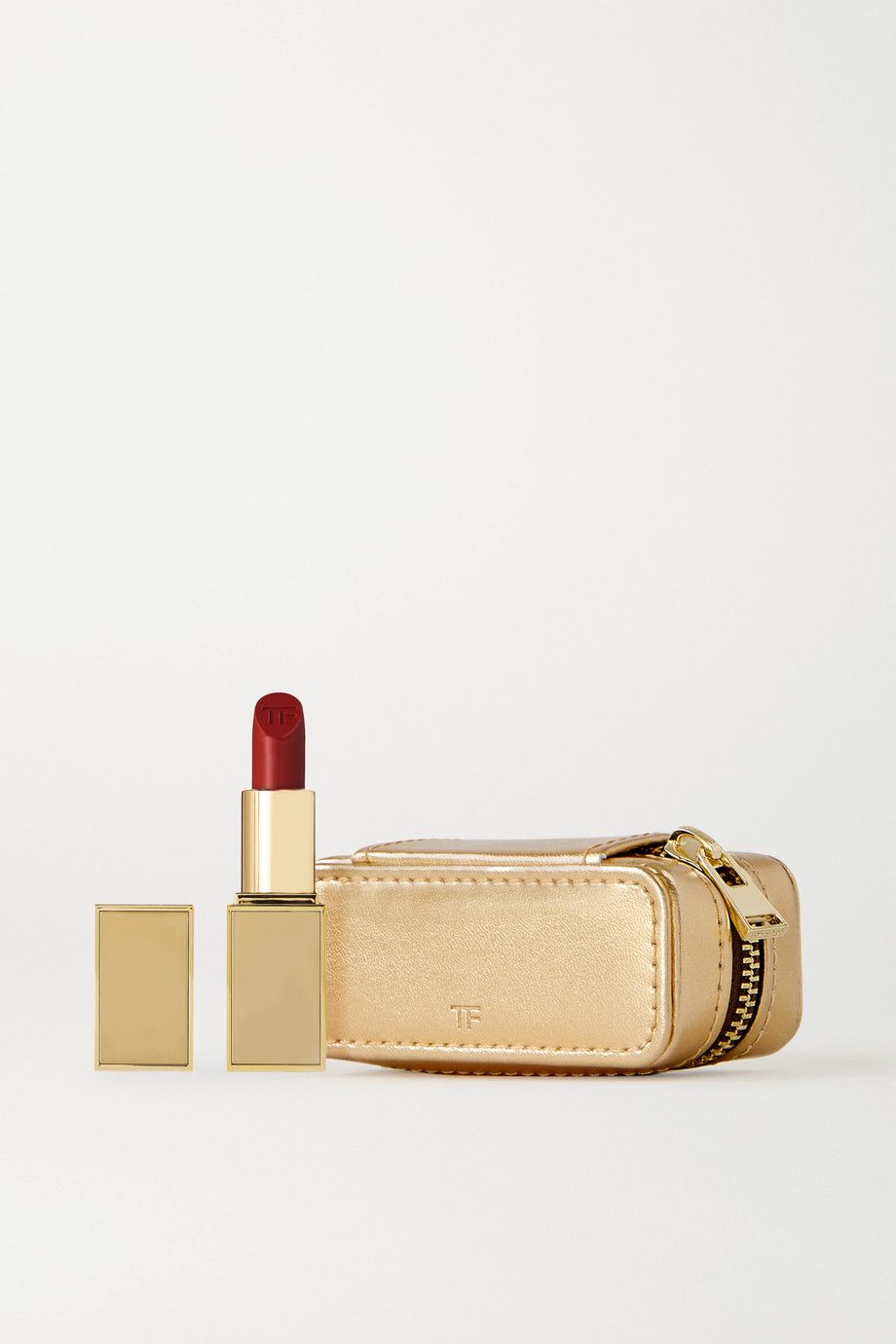 TOM FORD BEAUTY Lip Color and Metallic Leather Case Set - Wild Ginger