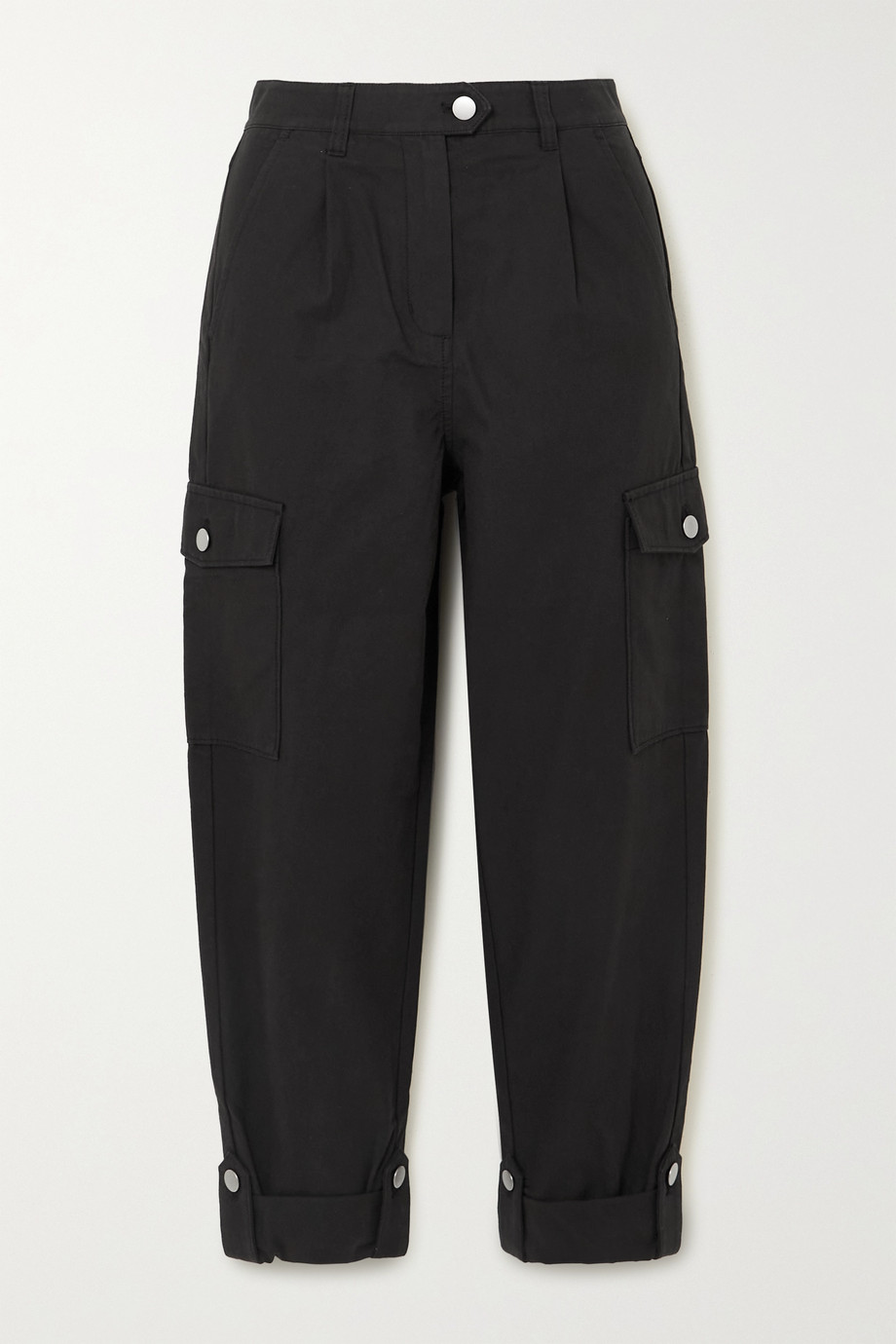 The Range Cropped cotton-twill tapered cargo pants