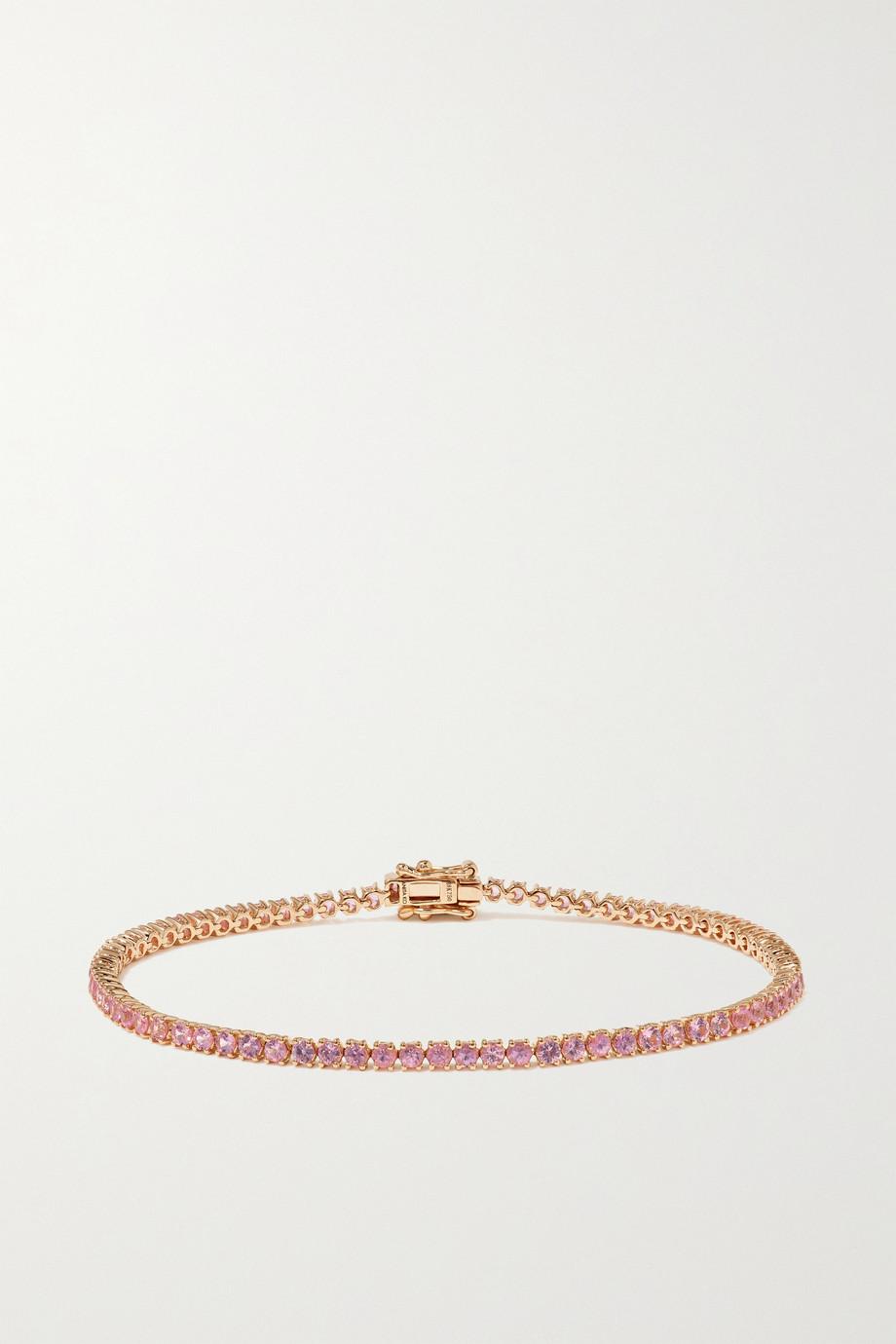 Anita Ko Hepburn 18-karat rose gold sapphire bracelet