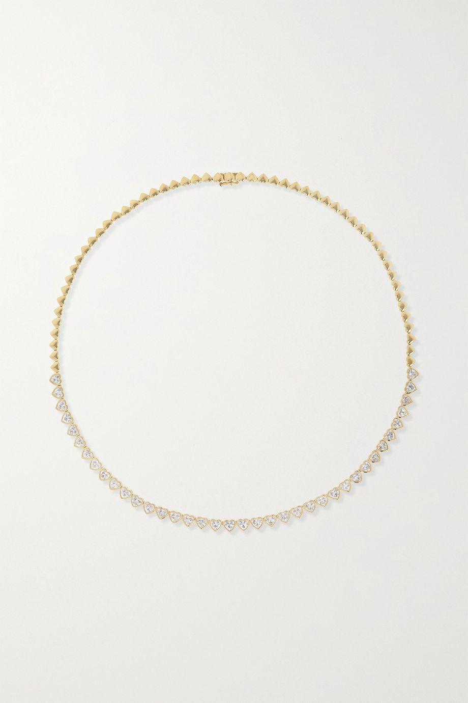 Anita Ko Collier en or 18carats (750/1000) et diamants Heart