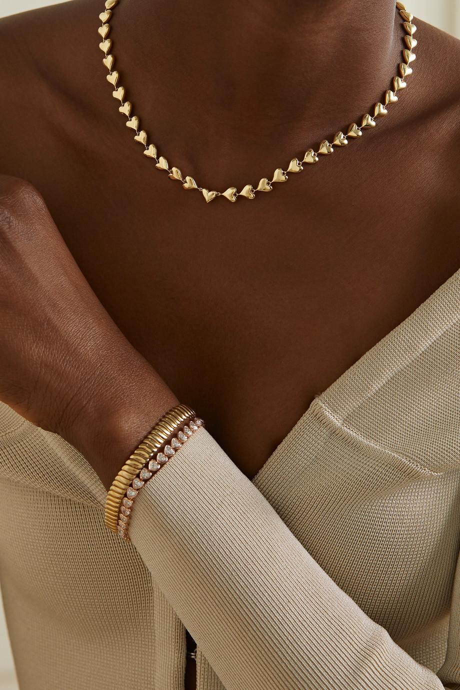 Anita Ko 18-karat gold choker