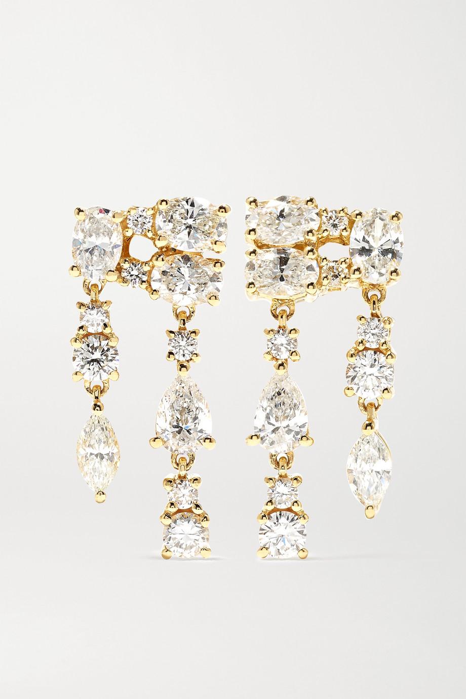 Anita Ko Boucles d'oreilles en or 18 carats (750/1000) et diamants Maya