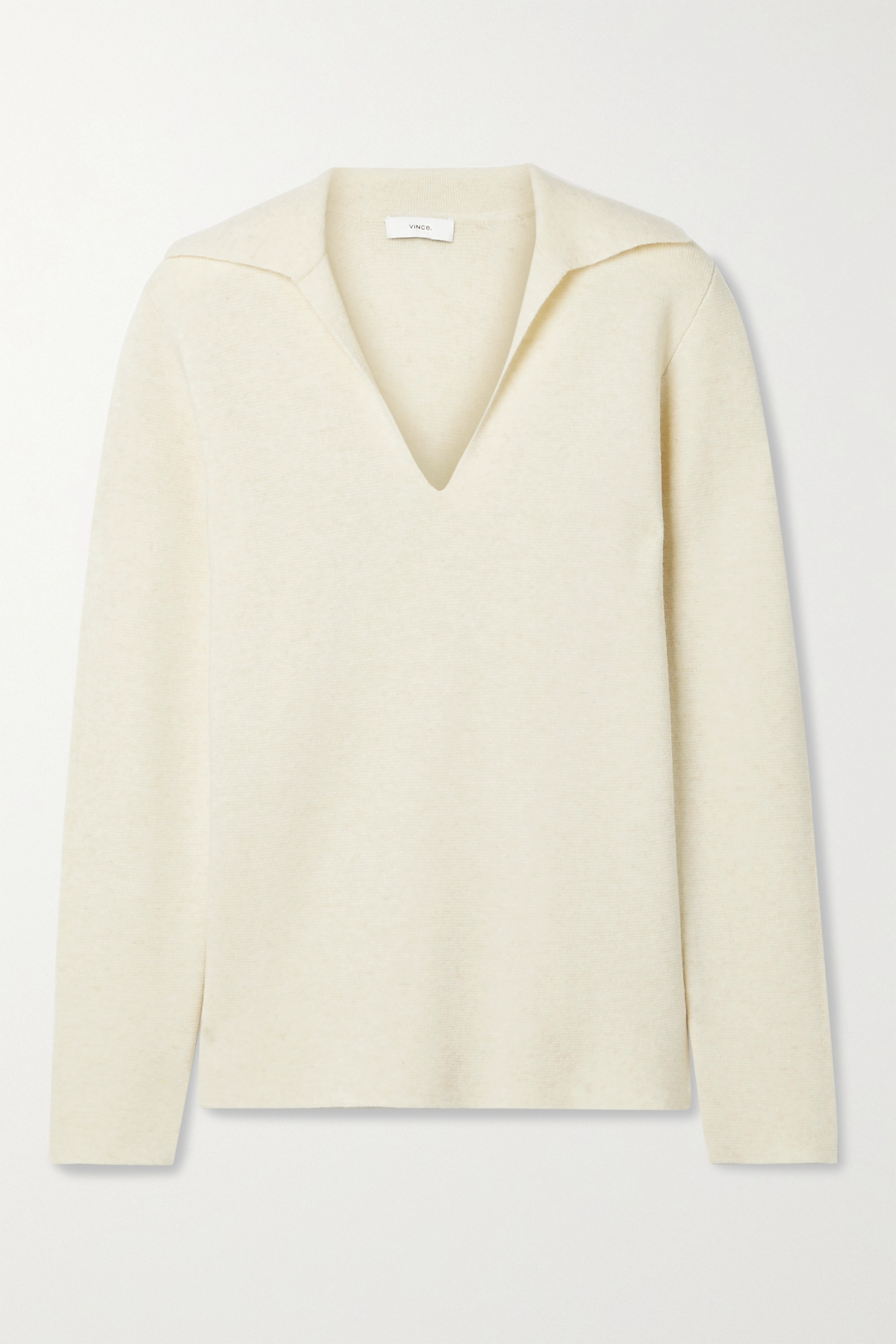 Vince Wools WOOL AND CASHMERE-BLEND SWEATER