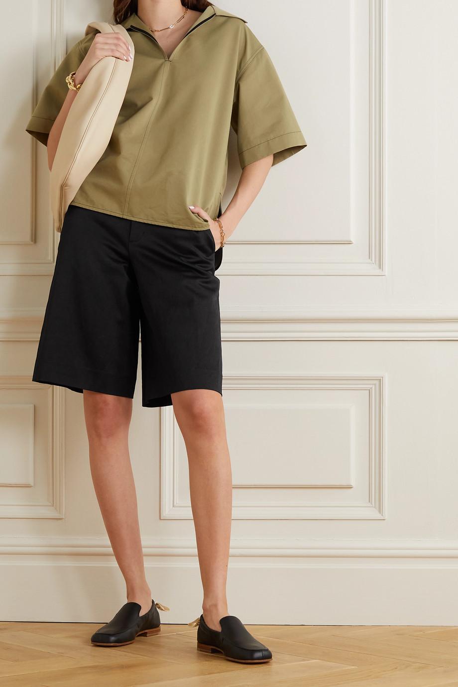 Vince Linen-blend shorts