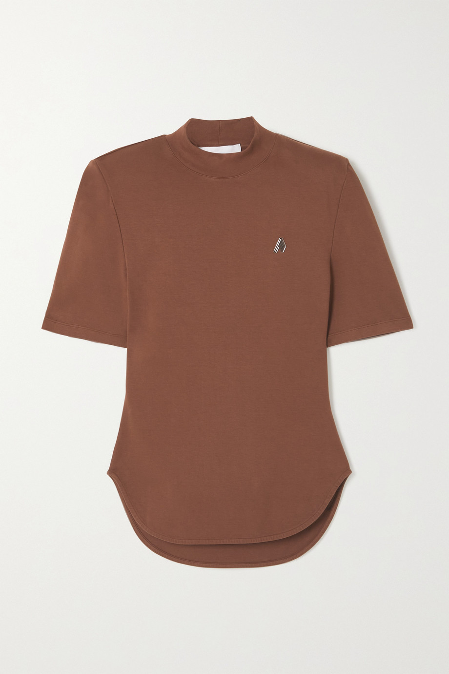 The Attico Tessa cotton-jersey T-shirt