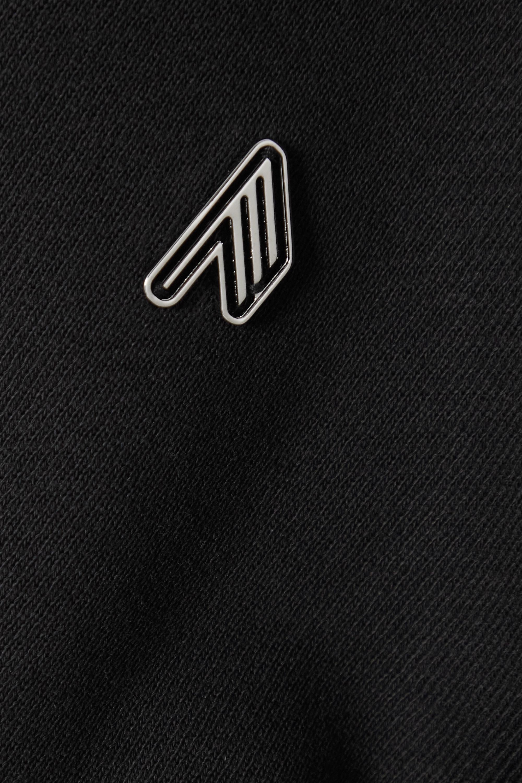 The Attico Sweat en jersey de coton à appliqué Kenna