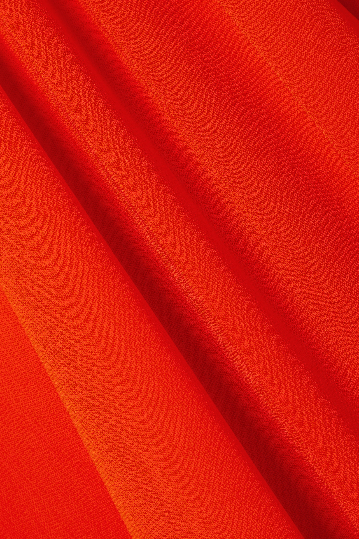 Proenza Schouler Maxikleid aus mattem Jersey mit Cut-outs und Raffungen zum Binden