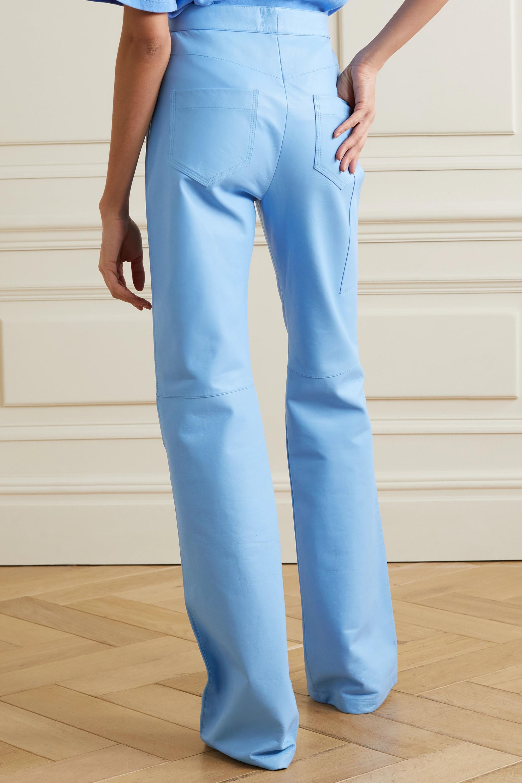Proenza Schouler Hose mit geradem Bein aus Leder