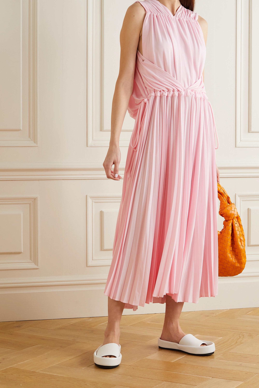 Proenza Schouler Cape-effect gathered jersey dress