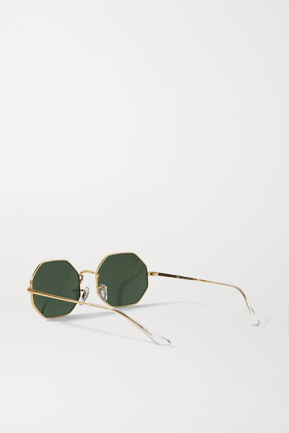 Ray-Ban 1972 octagon-frame gold-tone sunglasses
