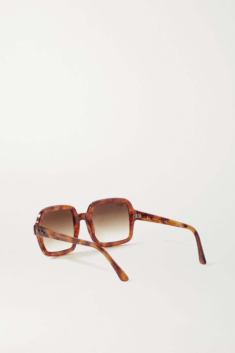 Ray-Ban Square-frame tortoiseshell acetate sunglasses