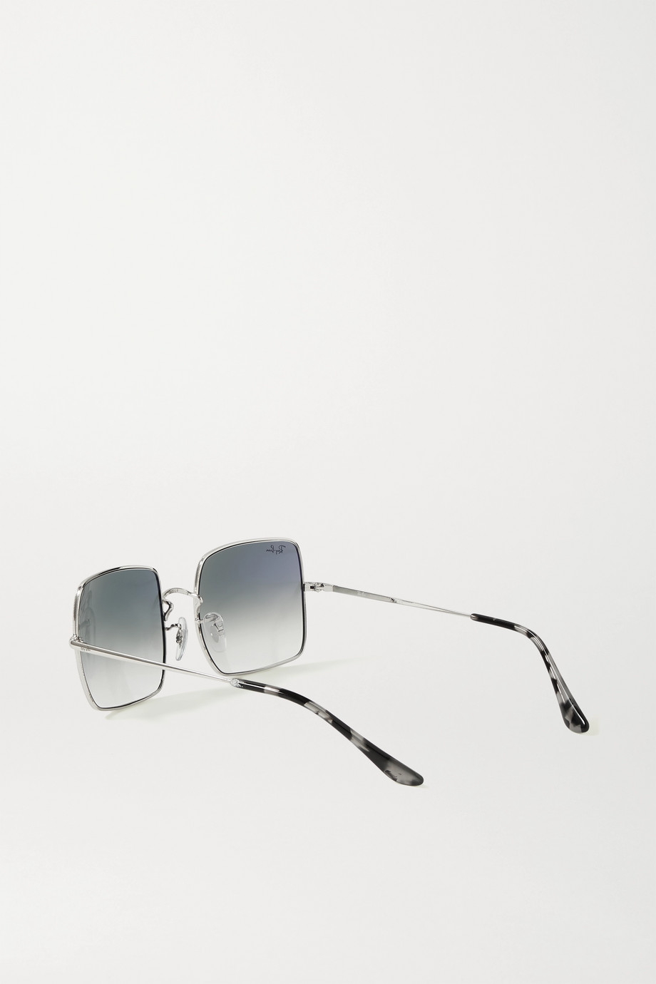 Ray-Ban 1971 square-frame silver-tone and acetate sunglasses