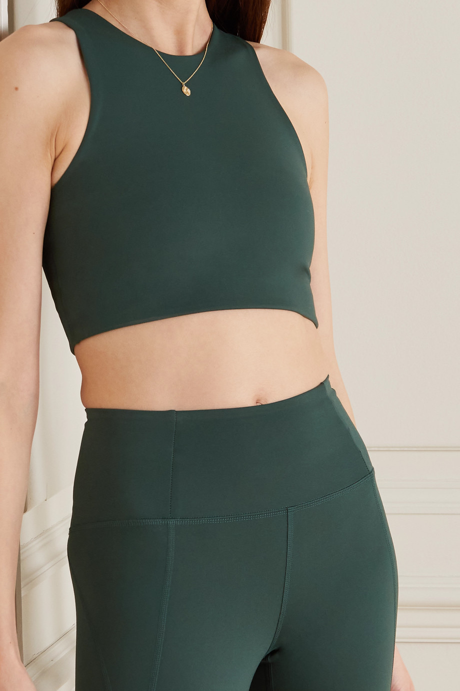Girlfriend Collective Dylan recycled stretch sports bra