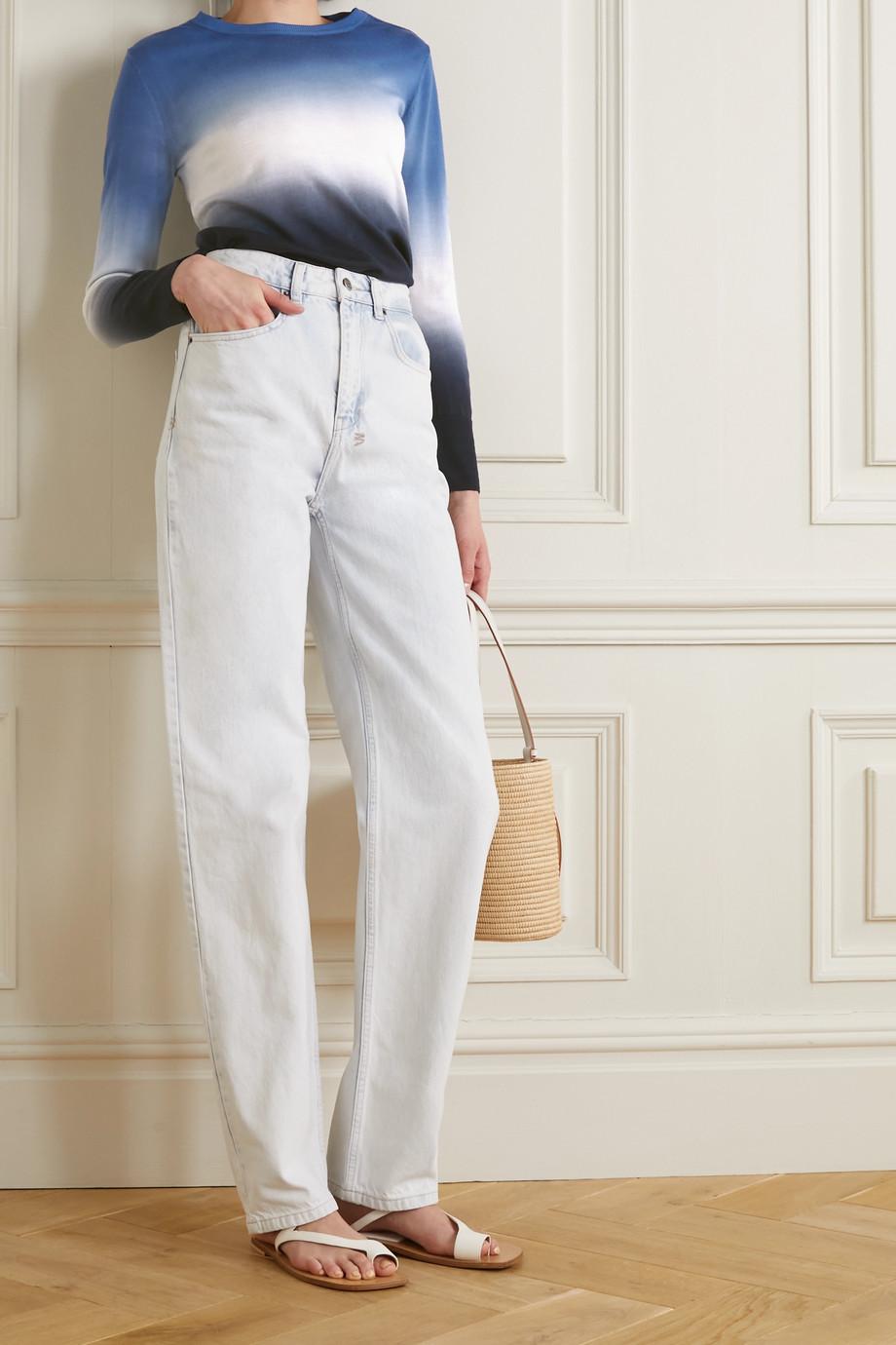 Cefinn Jenner Pullover aus Wolle mit Farbverlauf