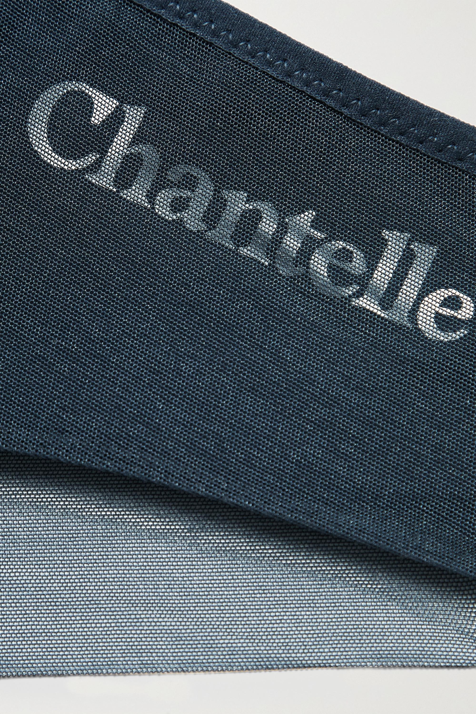 Chantelle Prime Höschen aus Stretch-Jersey und Tüll mit Print