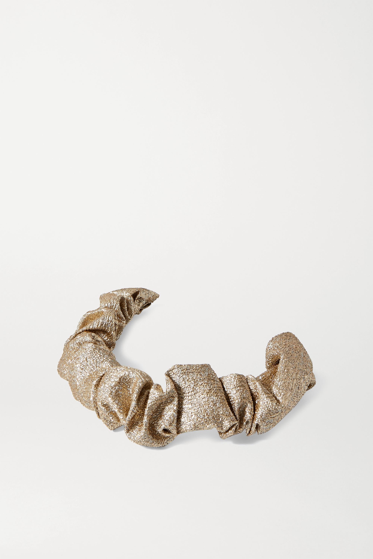 LELET NY Ruched Lurex headband