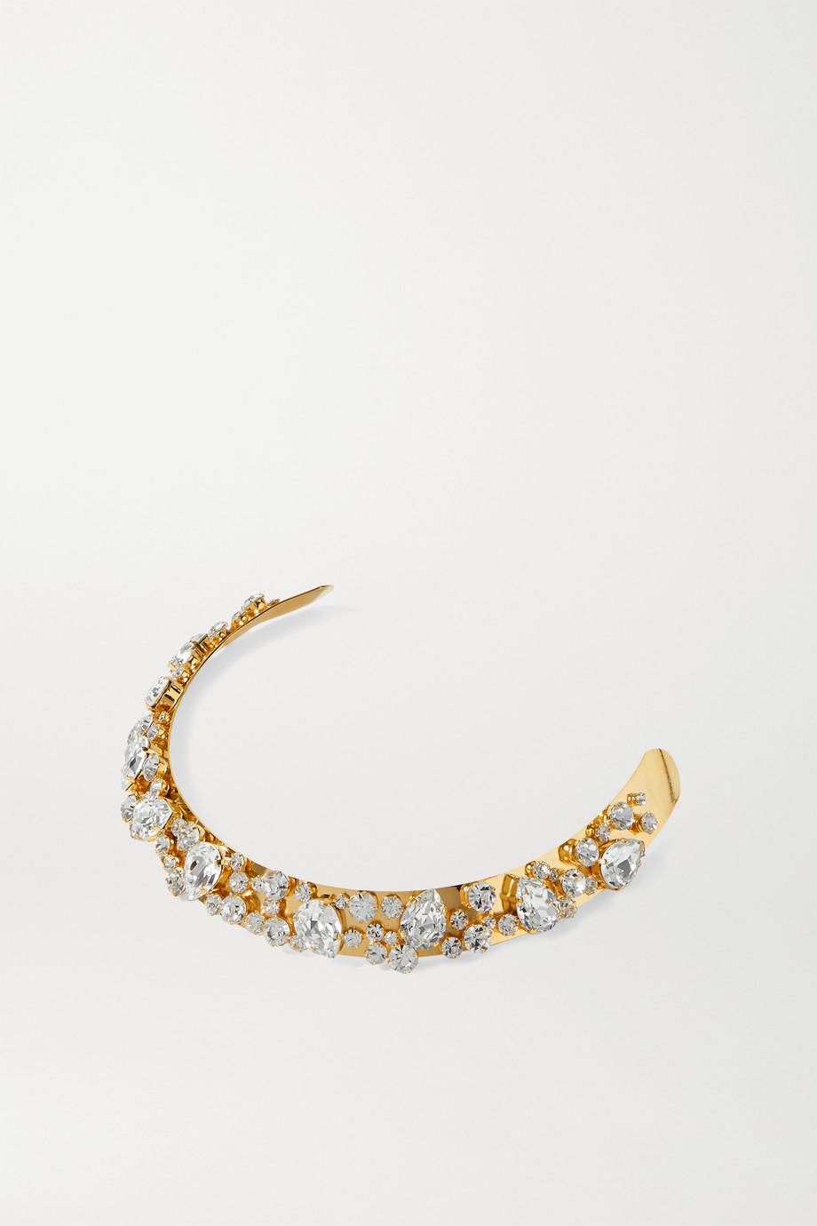 LELET NY Kiera gold-tone crystal headband
