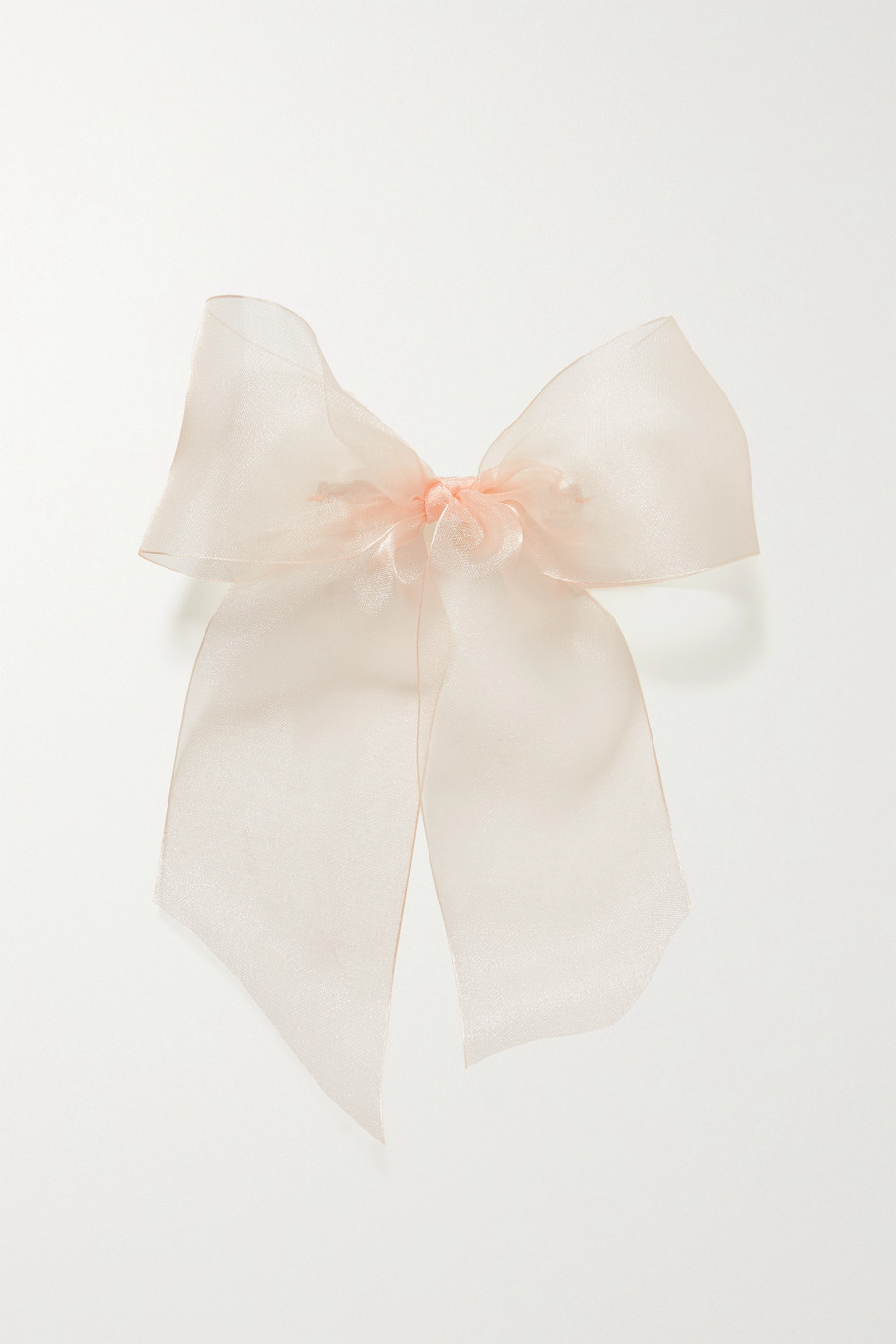 LELET NY Degradé silk-organza hair clip