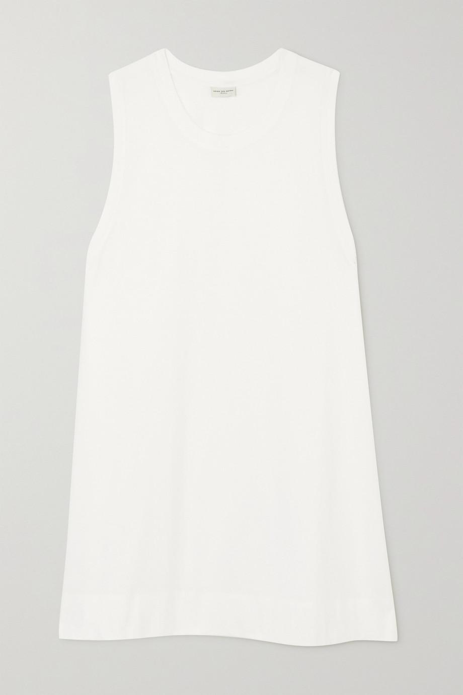 Dries Van Noten Cotton-jersey mini dress