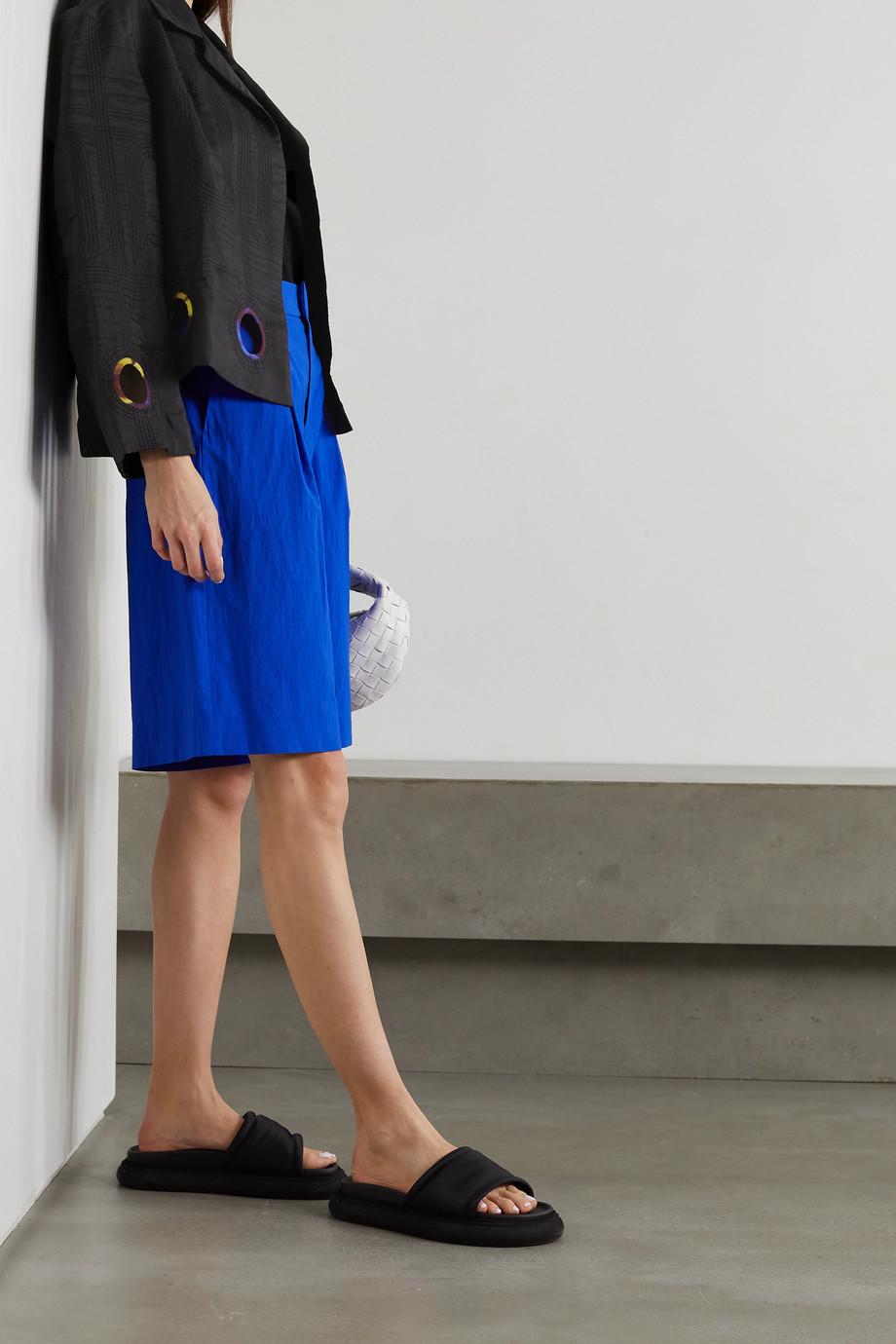 Dries Van Noten Cutout silk and cotton-blend jacket