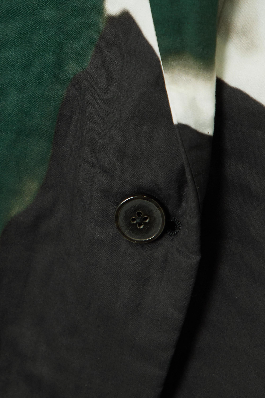 Dries Van Noten Bilbana printed cotton-poplin blazer