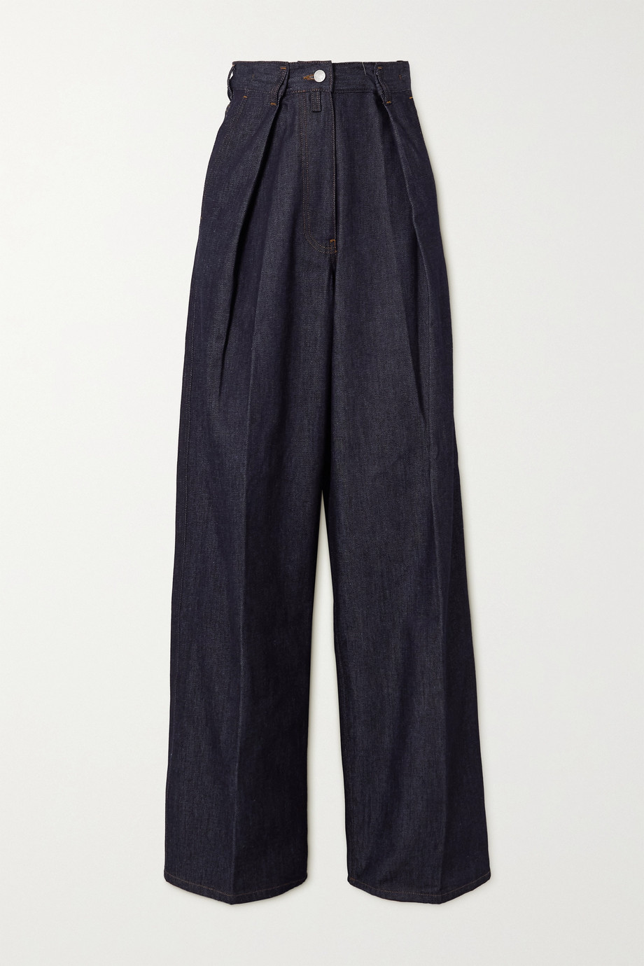 Dries Van Noten High-rise straight-leg jeans