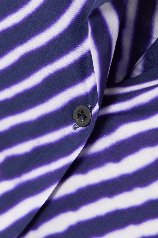 Dries Van Noten Hemd aus gestreifter Baumwollpopeline
