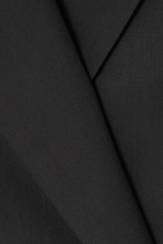 Dries Van Noten Cotton-poplin wrap shirt