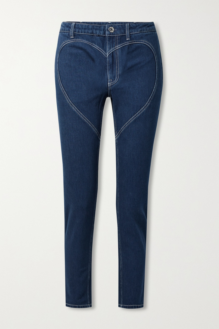 Burberry High-rise skinny jeans