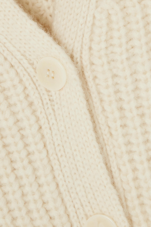 Envelope1976 Bukta wendbarer Cardigan aus einer gerippten Alpakawollmischung