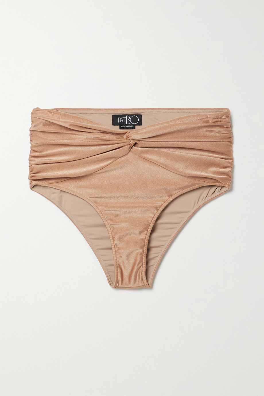 PatBO Bikini-Höschen mit Twist-Detail und Raffungen